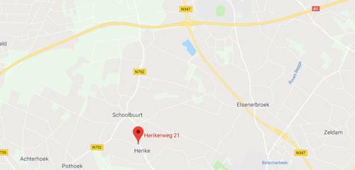 Autobedrijf Scholten Markelo B.V. -  Route